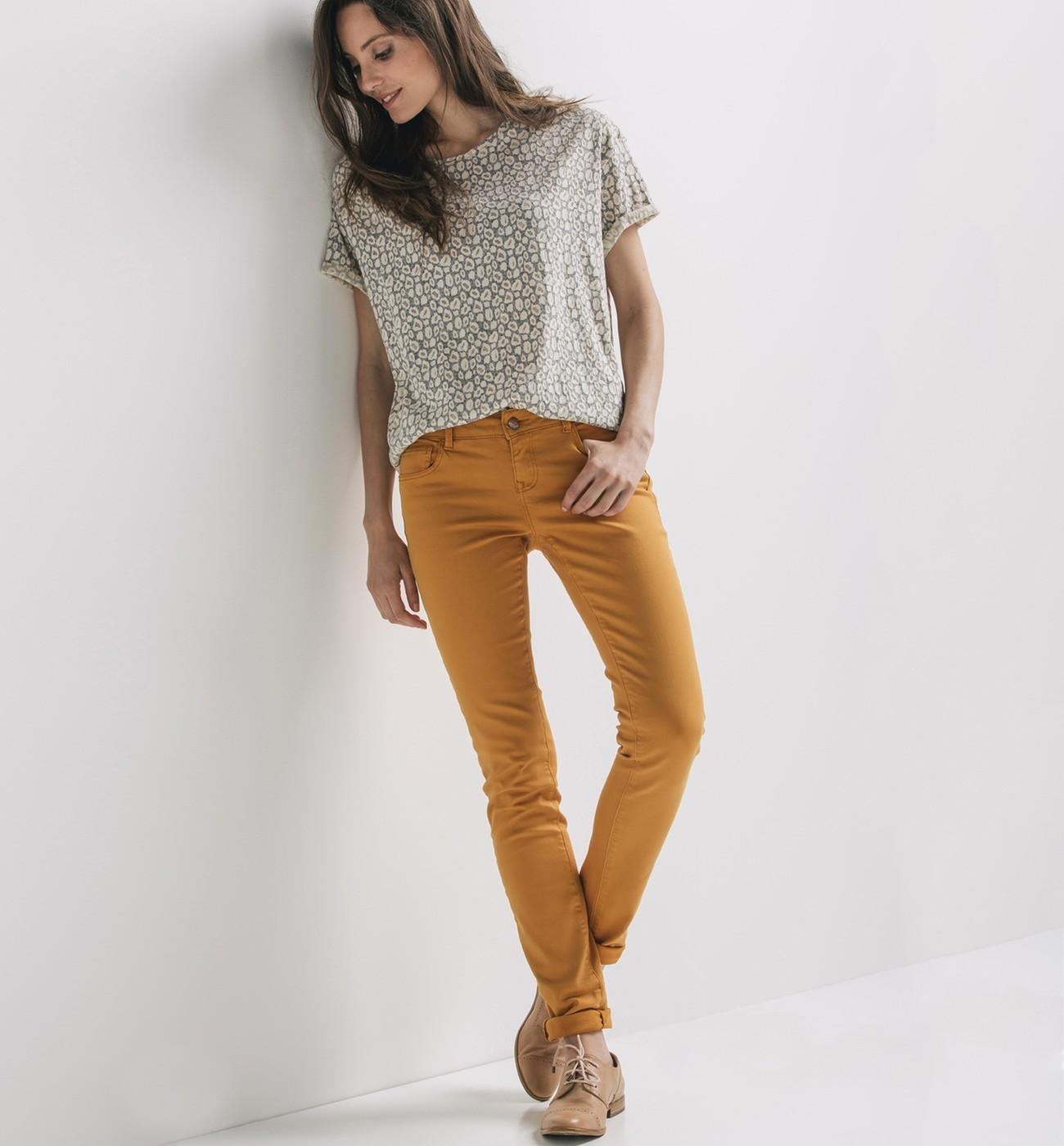 Pantalon femme il ne faut pas le choisir trop large - Que porter avec un pantalon beige femme ...