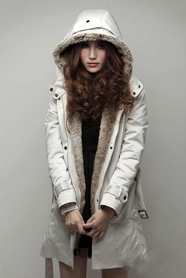 Manteau bien chaud pour fille