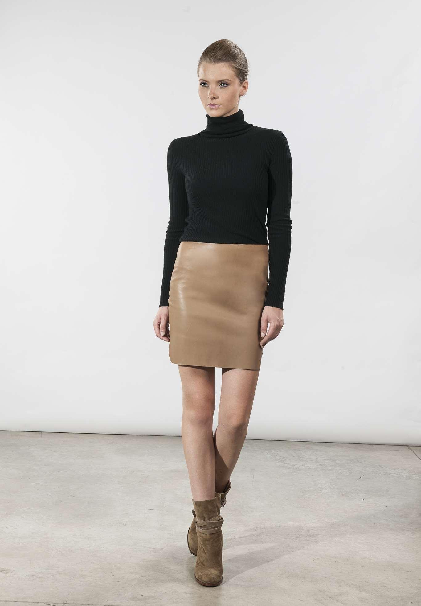 Tout Savoir Sur Le Cuir jupe en cuir, quelques modèles tendances à découvrir