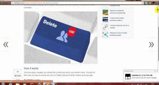 Comment supprimer un ami de facebook ?
