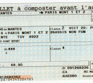 Comment réserver un billet de train ?